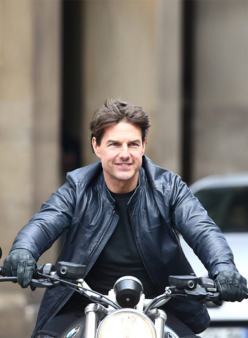 Tom Cruise Mission Impossible Fallout Leather Jacket