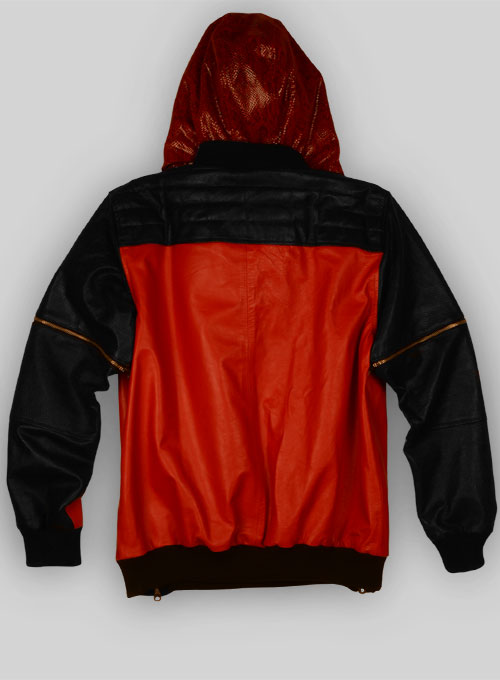 Tornado Convertible Leather Jacket