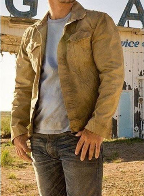 Transformers 4 Mark Wahlberg Leather Jacket