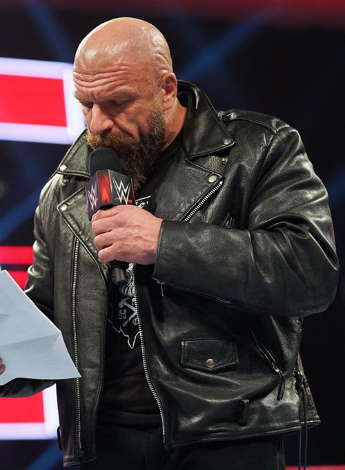 Triple H Leather Jacket