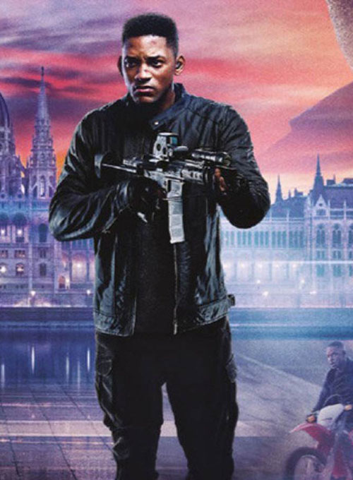 Will Smith Gemini Man leather Jacket