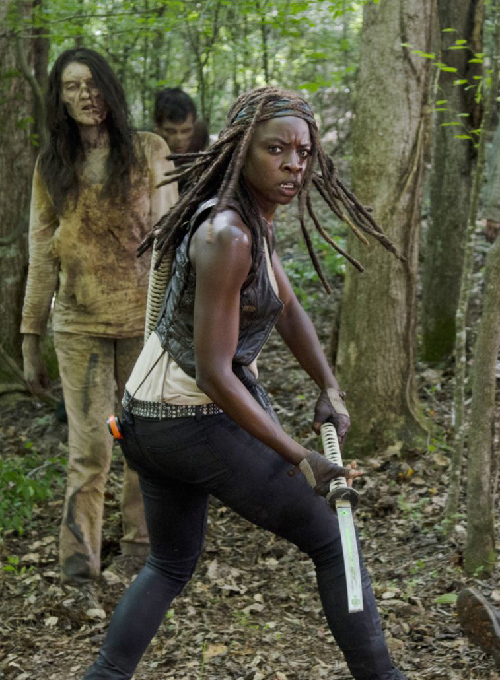 Danai Gurira The Walking Dead Leather Vest
