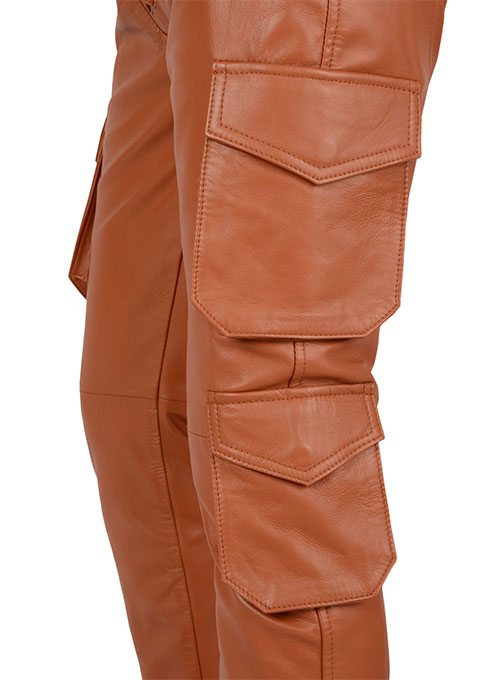 Drifter Leather Cargo Pants