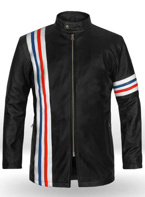 Easy Rider Captain America Leather Jacket