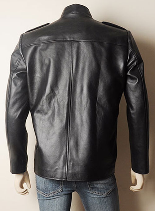 Jim Morrison Leather Jacket and Pants Set