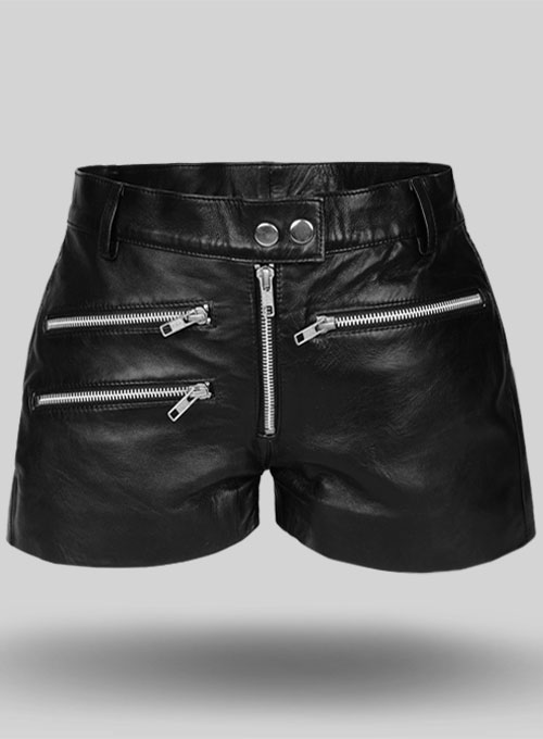 Leather Cargo Shorts Style # 385