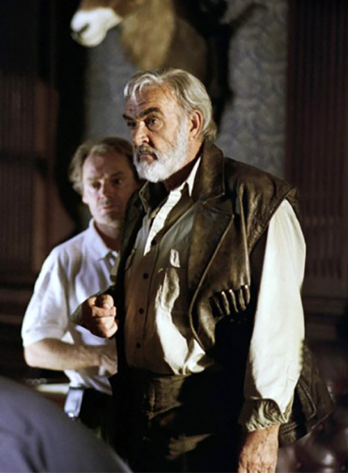 Sean Connery The League of Extraordinary Gentlemen Leather Vest