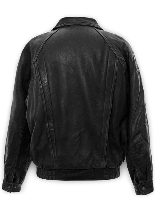 Vintage Bomber Leather Jacket